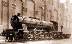 Locomotora MZA 1701